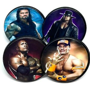 WWE Party Supplies Cupcake Toppers Cake Decorations Rings - Package of 25
