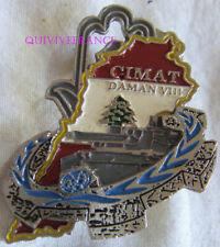 IN15588 - insigne DAMAN 8 COMPAGNIE DU MATERIEL matriculé - LIBAN