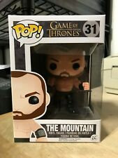 FUNKO POP THE MOUNTAIN #31 GAME OF THRONES HBO VAULTED RETIRED AUTHENTIC IN HAND