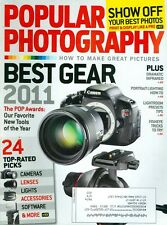 2011 Popular Photography Magazine: Best Gear/Show Off Your Photos/Infrared Tips