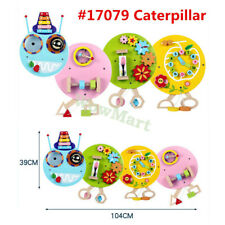 Wall Mounted Educational Activity Sensory Busy Board Panel - Caterpillar #17079