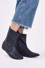 Topshop Calf Boots By Molloy Goddard Size 7/40  US 9 £150