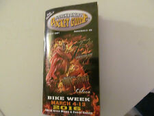 2016 75TH DAYTONA BEACH BIKE WEEK  SOUVENIR BIKER'S POCKET GUIDE BRAND NEW