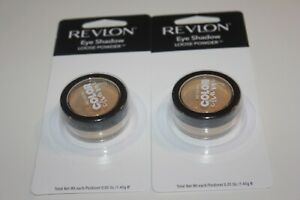 Revlon Color Charge Loose Powder Eye Shadow #102 GOLDEN DUST CARDED