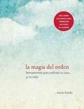 La Magia del Orden by Marie Kondo (Spanish) Paperback Book Free Shipping!