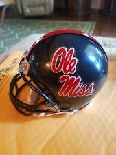OLE MISS REBELS RIDDELL Mini Helmet NCAA. SEC.