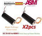 2pcs DC 3V-6V to 400kV 400000V Boost Step up High Voltage Generator Power Module