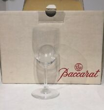 Baccarat Crystal Perfection Wine Glass 3 France Set of 6