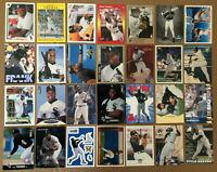 Frank Thomas LOT of 44 INSERTS 2nd year base cards nm/mint HOF 1991-98 leaf UD