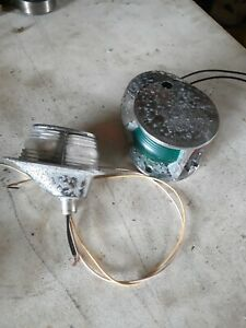 Vintage Marine Boat Directional Bow Light and stearn