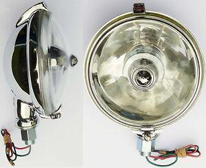Lucas SLR576 Chrome Spot Light / Spot Lamp, for; MG, Mini, Morris etc