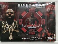 2010 Topps UFC Series 4 KIMBO SLICE RC Exclusive UFC Chip SEALED MMA Rookie RARE