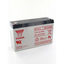 Batterie Plomb Yuasa 6V 10Ah NP10-6