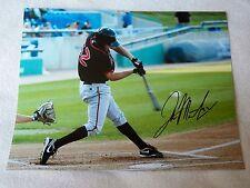 Toronto Blue Jays Jake Marisnick Signed 11x14 Lansing Lugnuts Photo Auto