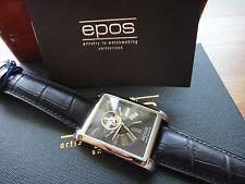 Genuine EPOS Perfection Mechanical self-winding SKELETON 3399.133 ETA 2824-2,50M