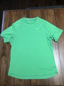 Men's Nike T-shirt Green Shirt X-Large