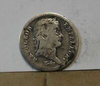 Monnaie france Demi franc 1/2 1811 A napoleon 1er empereur argent
