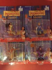 "Disney's Pocahontas Collectible 3"" Figures Lot Of 4"