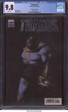 Thanos #1 2019 CGC 9.8 - Tini Howard story, Gerardo Zaffino variant cover
