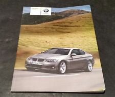 BMW 3 Coupe US En 328i 335i Owners Manual