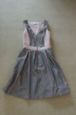 Almari size 8 Unusual Grey & Pink dress V neck Great for occasion hardly worn