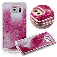^ Glitzer Flüssig Hülle Cover Case Etui FUN CASE Samsung Galaxy S8 PINK