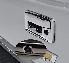 For Chevy Silverado/ GMC Sierra 2014-2016 Tailgate Backup Camera Chrome Reverse