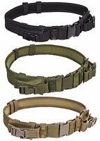 NcStar Tactical Belt Rig w/ QD & 2 Pistol Mag Pouch Battle Combat Police SWAT