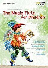 THE MAGIC FLUTE FOR CHILDREN NEW DVD