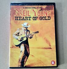 NEIL YOUNG - HEART OF GOLD DVD * NEW & SEALED * DUTCH IMPORT *  Region 2