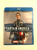 Captain America: The First Avenger (Blu-ray Disc, 2017, Marvel) No Digital Code