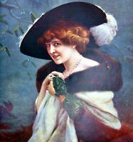 Hanger Nina Barkis Cover Polychrome Comoedia Shown N°6 1909