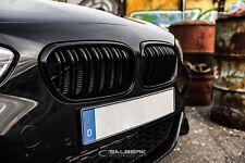 Nieren Set schwarz glänzend beschichtet BMW 1er F20 LCI Grill Salberk 2002DL