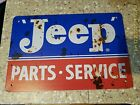 Jeep Tin Sign Jeep Metal Sign Art Jeep Parts Service Shop Mancave Sign Wrangler