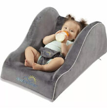 Dexbaby Day Dreamer Portable Baby Lounger Seat For Infant, Grey New