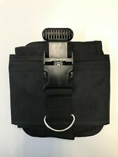 Dive Rite 16lb Weight Pocket (Left Side) universal 2 inch webbing Quick Buckle