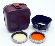 Rolleiflex Bay I Lens Hood & Filter Outfit for Tessar & Xenar Lenses, UK Dealer