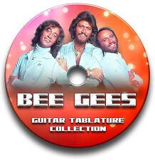 BEE GEES POP ROCK GUITAR TABS TABLATURE SONG BOOK SOFTWARE CD