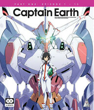 Captain Earth . Collection 1 . Episodes 01-13 . Anime . 2 Blu-ray . NEU . OVP