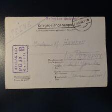 LETTRE PRISONNIER DE GUERRE STALAG II D 18.06.1942 KRIEGSGEFANGENENPOST POW