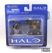Halo Minimates TRU Toys R Us Wave 4 Arbiter (Ripa 'Moramee) & Prophet of Mercy