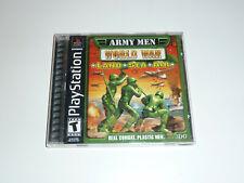 Army Men: World War -- Land, Sea, Air (Sony PlayStation 1, 2000)
