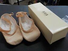 Bloch Pump Canvas Ballet Slippers Pink Flat S0277L Split Sole 2D