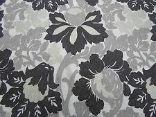 Designers Guild Curtain Fabric 'Santuzza' 2.25 METRES 225cm Charcoal 100% Linen
