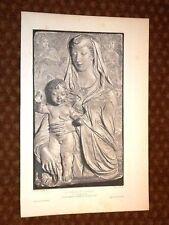 La Vergine ed il Bambino - Agostino di Duccio