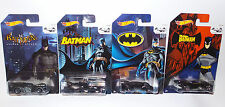 BATMAN : SET OF 4 CARDED DIE CAST MODELS FROM ACROSS THE BATMAN SERIES