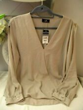 Wallis Ladies Chiffon Top - Size L - New with Tags