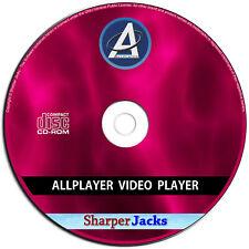 NEW & Fast Ship! ALL Player Media Center Pro AVI, DIVX, MP3, MP4, FLV, MOV, WMV