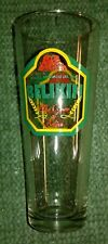 Belikin Beer Glass Belize Brewing Company 12 Oz NEW NICE & CLEAN