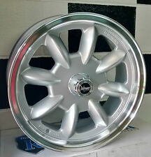 "15x6"" BLANK PERFORMANCE SUPERLITE ALLOY MAG WHEELS SUIT OLD SCHOOL CARS"